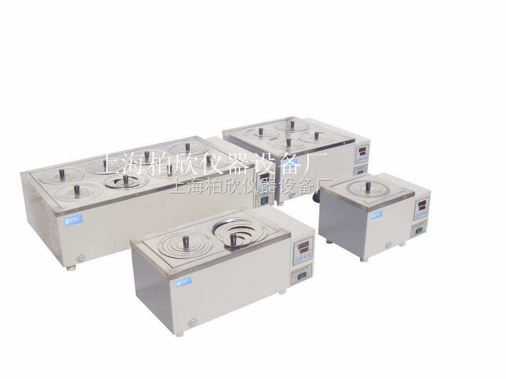 电热恒温水浴锅DK单列六孔DK-S16上海柏欣水浴锅 水煮测试仪 恒温水槽