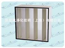 V型高效过滤网,上海W型塑料框高效过滤网