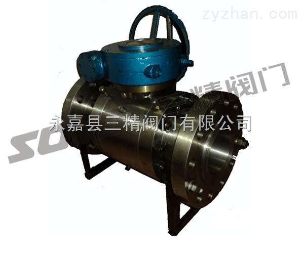 球阀图片系列:Q347F锻钢固定球阀