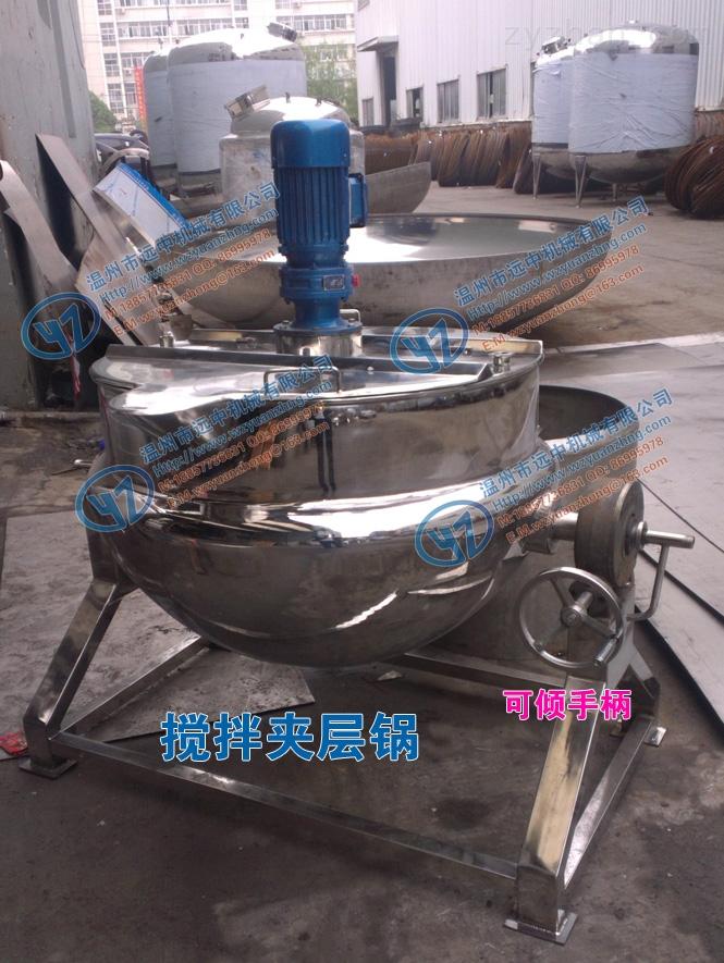 可倾式刮壁搅拌夹层锅