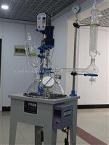 YDF-10L單層玻璃反應釜自帶恒溫加熱鍋——鞏義予華儀器