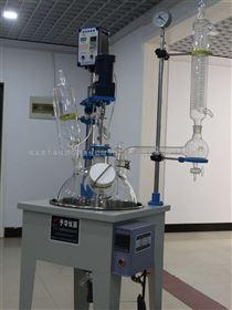 YDF1L-50L单层玻璃反应釜(巩义予华仪器厂家直销)