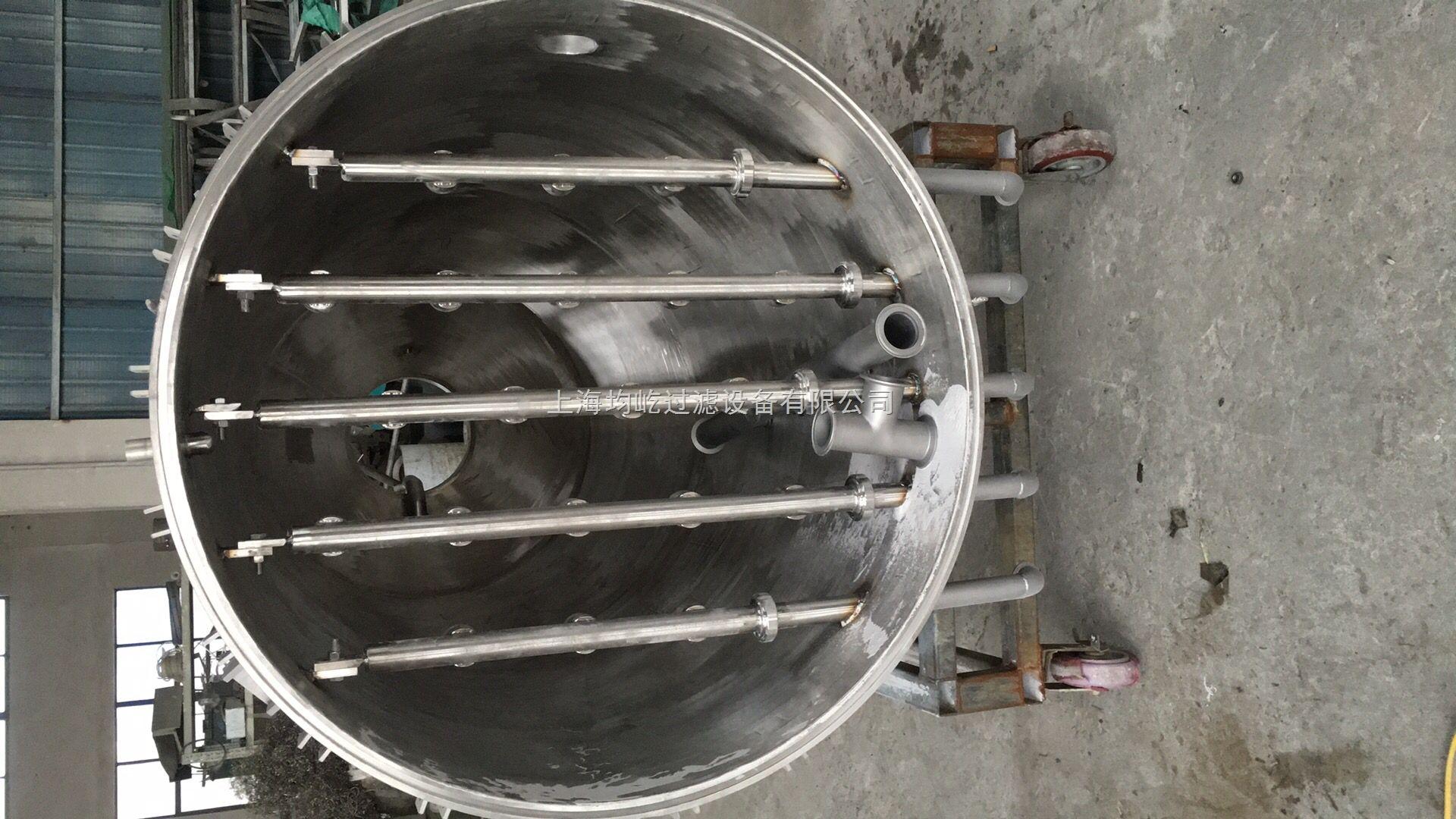 上海烛式过滤器,烛式过滤机,滤饼层过滤机厂家