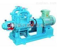 水环式真空泵的工作原理