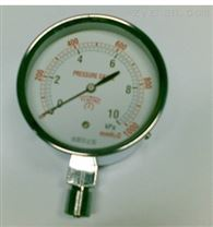 管道燃气压力表20KPA微压表