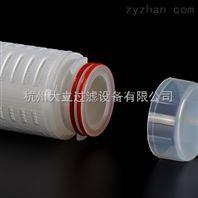 高精度PP微孔折叠膜滤芯制药级微孔滤芯