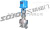 SZDLQ、SZDLX调节阀图片系列:电子式电动三通合流调节阀,电子式电动三通分流调节阀